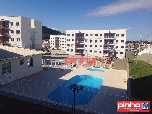 Apartamento com 2 dormitórios à venda, 52 m² por R$ 74.000,00 - São Sebastião - Palhoça/SC
