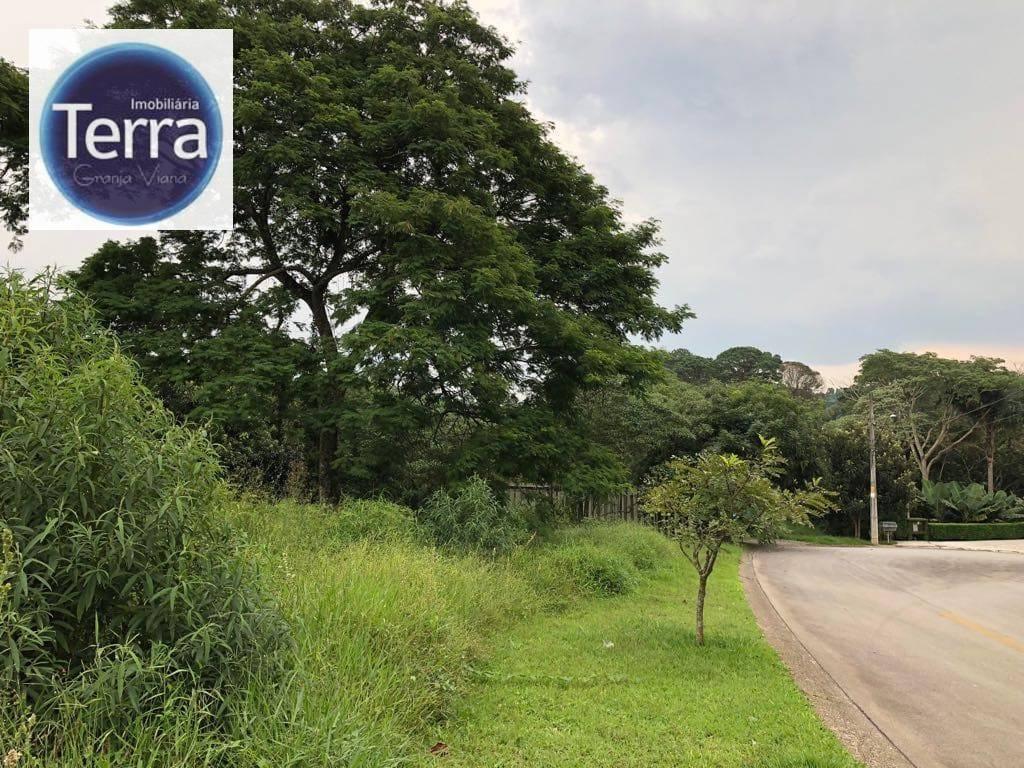 Terreno residencial à venda, Golf Village, Granja Viana.