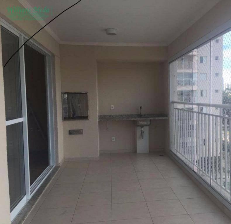 Apartamento 3 suítes, 2 vagas, Vila Augusta, Guarulhos.