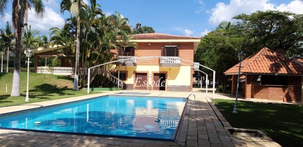 Chácara com 4 dormitórios à venda, 15500 m² por R$ 2.000.000 - Itapetininga - Atibaia/SP