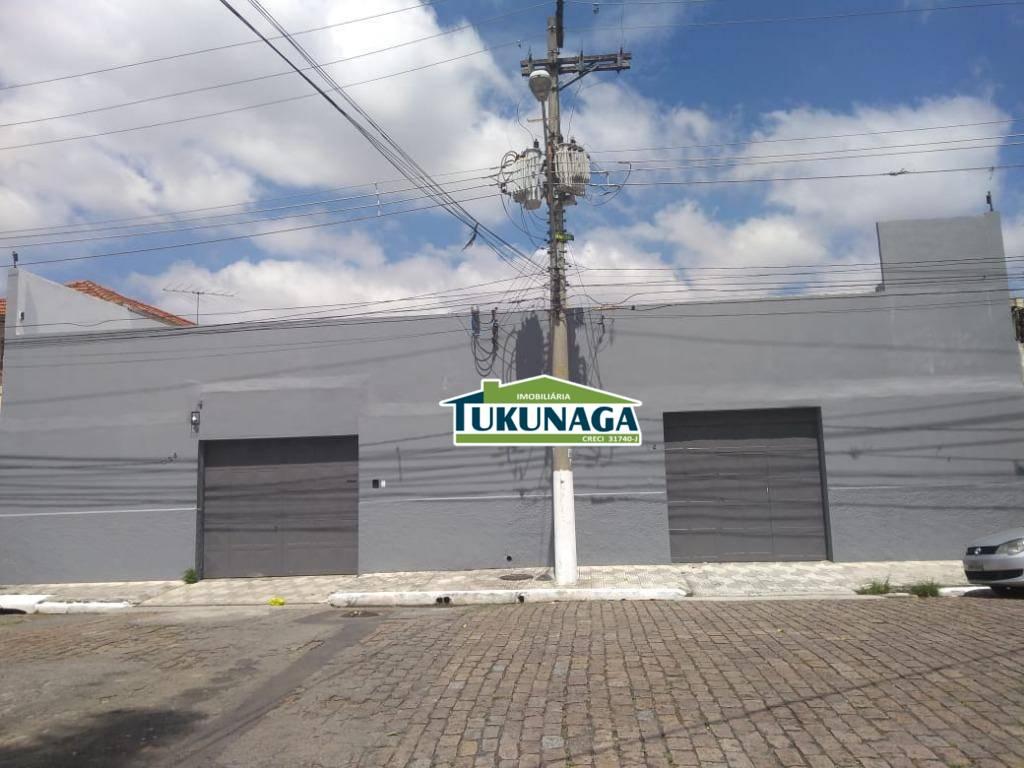 Galpão comercial para locação, Vila Independência, São Paulo.
