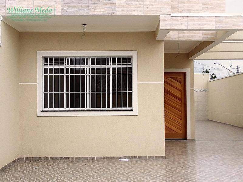 Sobrado com 3 dormitórios à venda, 99 m² por R$ 610.000 - Jardim São Francisco - Guarulhos/SP