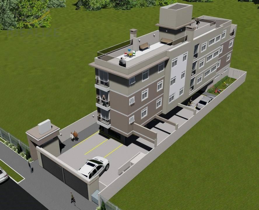 Apartamento com 2 dormitórios à venda, Vila Maria Antonieta - Pinhais/PR