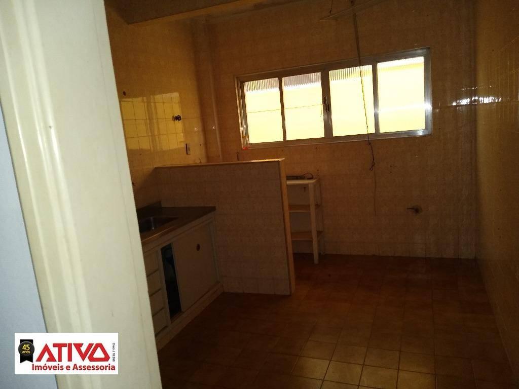 Apartamento com 1 dormitório à venda, 76 m² por R$ 235.000,00 - José Menino - Santos/SP