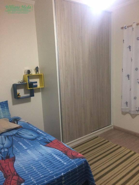 Sobrado residencial à venda, 3 dormitórios, 2 vagas. Jardim Bela Vista, Guarulhos.