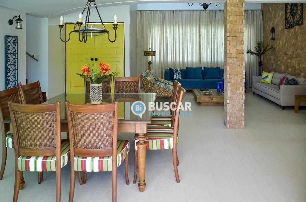 Casa com 4 dormitórios à venda, 900 m² por R$ 3.000.000 - Interlagos - Camaçari/BA