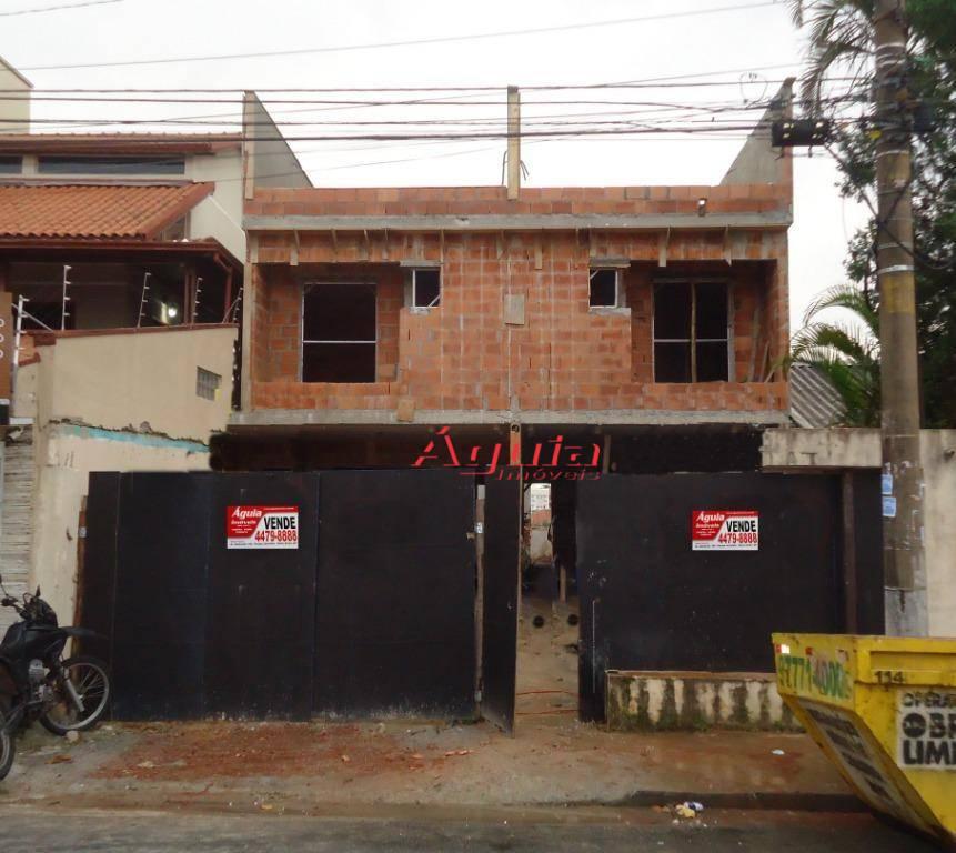Sobrado com 3 dormitórios à venda, 146 m² por R$ 670.000 - Jardim Paraíso - Santo André/SP
