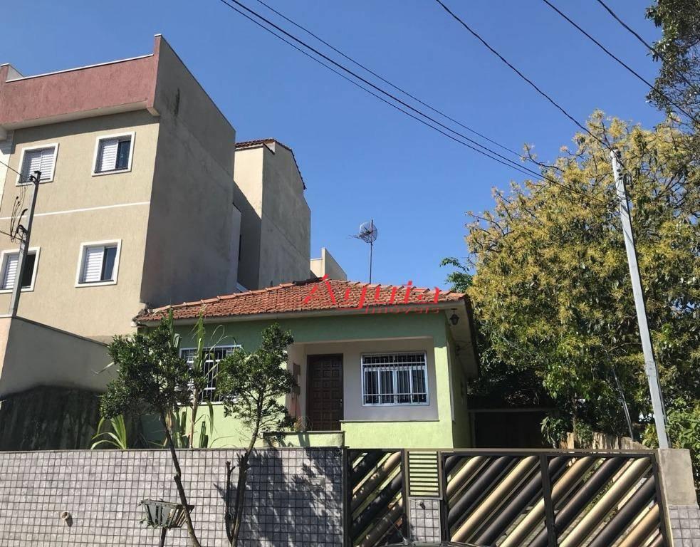 Terreno residencial à venda, Jardim Santo Alberto, Santo André.