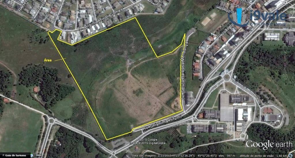 Área à venda em Urbanova, São José Dos Campos - SP