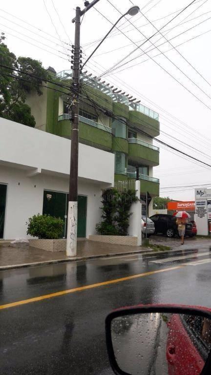 Cobertura com 2 dormitórios para alugar, 70 m² por R$ 800/di