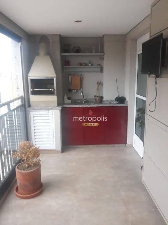 Apartamento à venda, 84 m² por R$ 640.000,00 - Santa Paula - São Caetano do Sul/SP