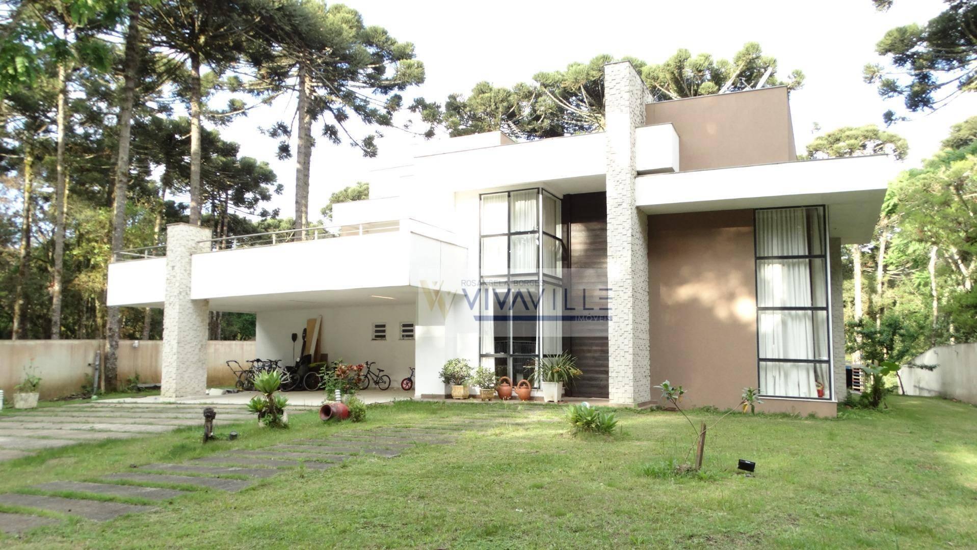 Casa com 4 dormitórios à venda, 480 m² por R$ 2.300.000 - Jardim Esmeralda - Piraquara/PR