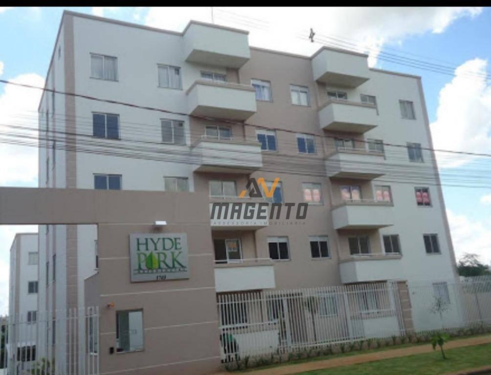 Apartamento à venda, 57 m² por R$ 190.000 - Neva - Cascavel/PR