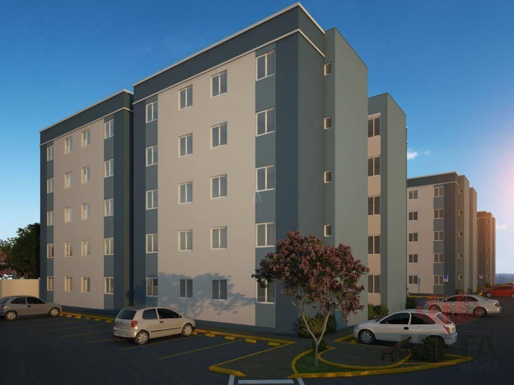Apartamento com 2 Dormitórios à venda, 45 m² por R$ 183.251,61