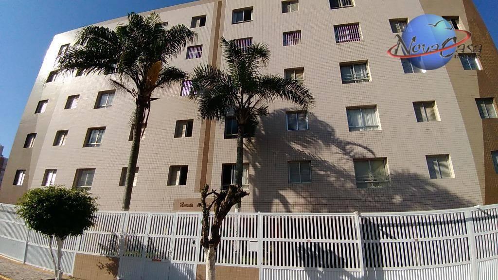 Apartamento com 1 dormitório à venda, 55 m² por R$ 165.000 - Praia Grande