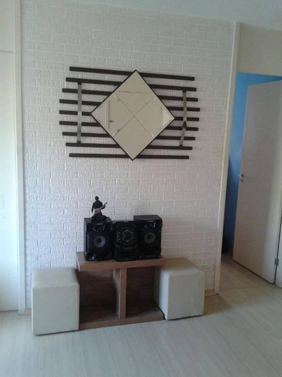 Apartamento residencial à venda, Vila Lutécia, Santo André - AP0245.