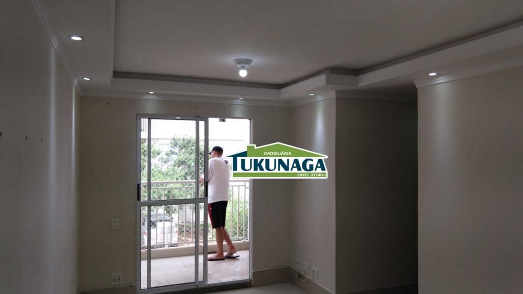 Apartamento com 3 dormitórios para alugar, 62 m² por R$ 1.210/mês - Vila Endres - Guarulhos/SP