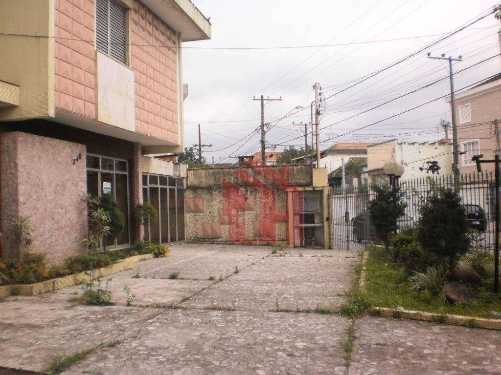 Sobrado para alugar, 300 m² por R$ 15.000,00/mês - Macuco - Santos/SP