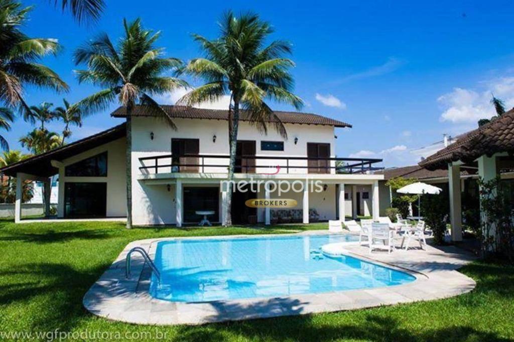 Casa para alugar, 556 m² por R$ 11.000,00/mês - Acapulco - Guarujá/SP