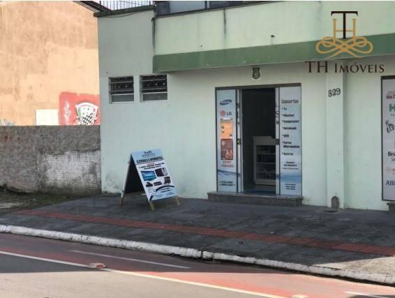 SALA COMERCIAL PARA LOCAÇÃO E  VENDA NO CENTRO DE BALNEÁRIO