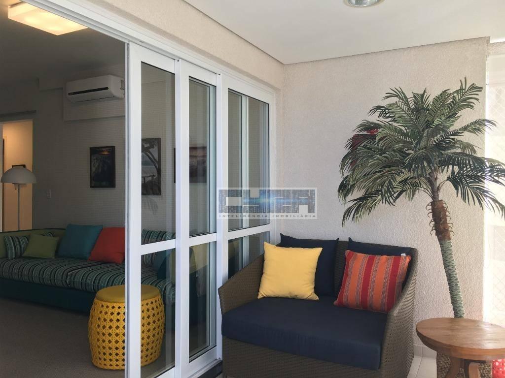 Apartamento de 3 dormitórios na Praia de Pitangueiras
