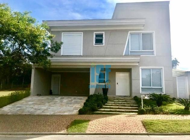 Sobrado com 4 dormitórios à venda, 498 m² por R$ 2.280.000 - Alphaville - Santana de Parnaíba/SP - SO5593.