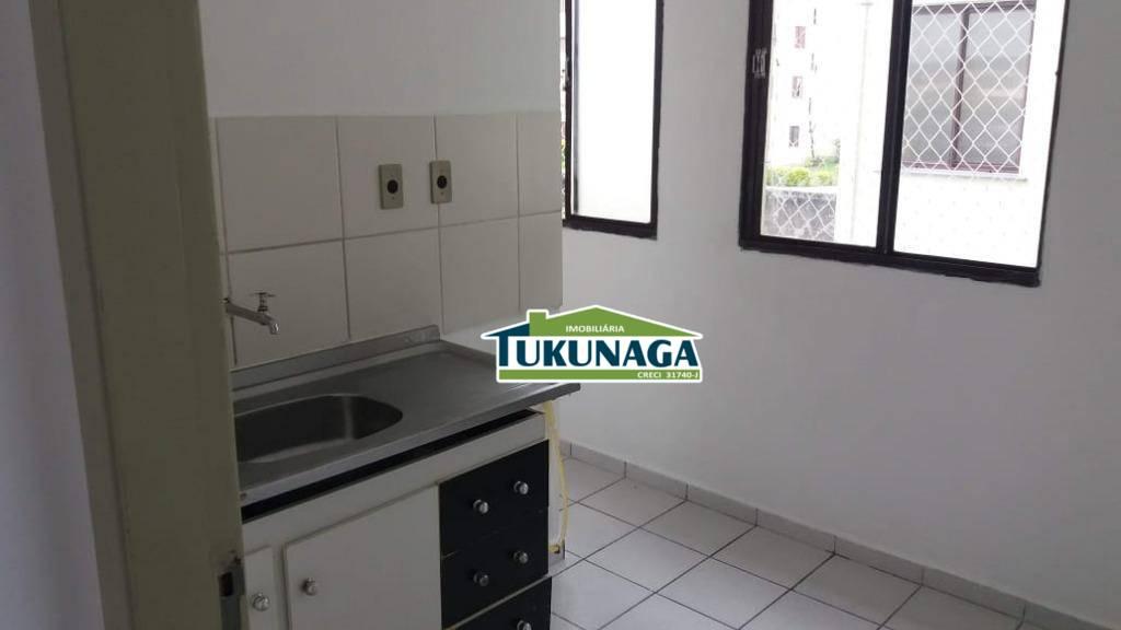Apartamento para alugar, 47 m² - Parque Uirapuru - Guarulhos/SP
