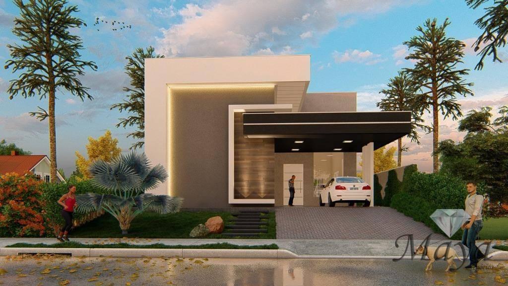 Casa 3 Suítes + Escritório, 210 m² c/ lazer no Mirante do Lago