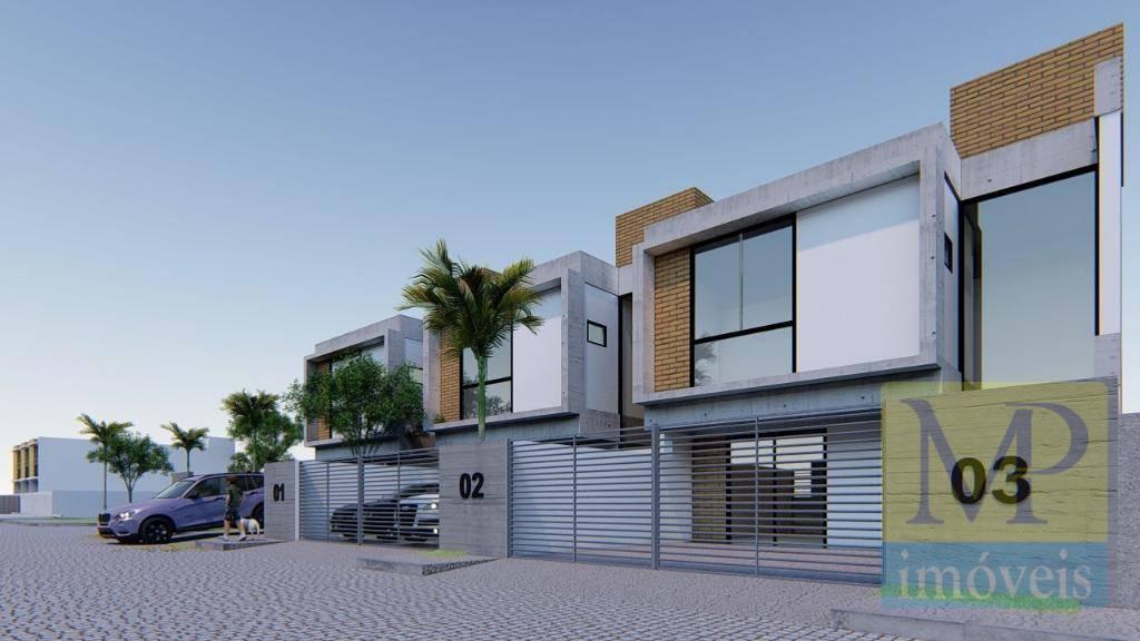 Sobrado com 3 dormitórios à venda, 85 m² por R$ 259.900,00 - Itajuba - Barra Velha/SC