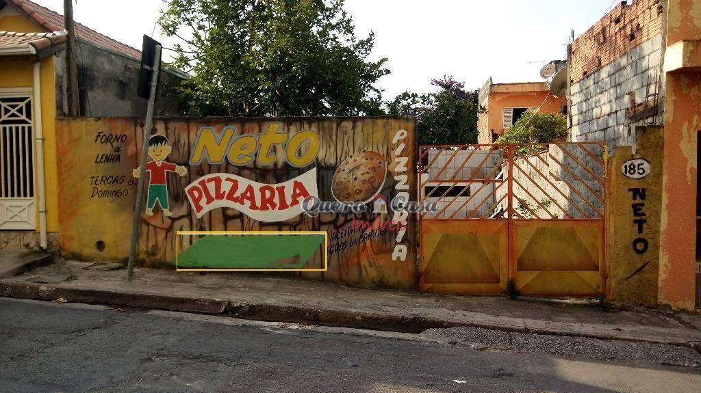 Terreno residencial à venda, Jardim Paraventi, Guarulhos.