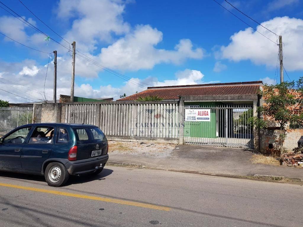Casa residencial para locação, São Sebastião, São José dos Pinhais.