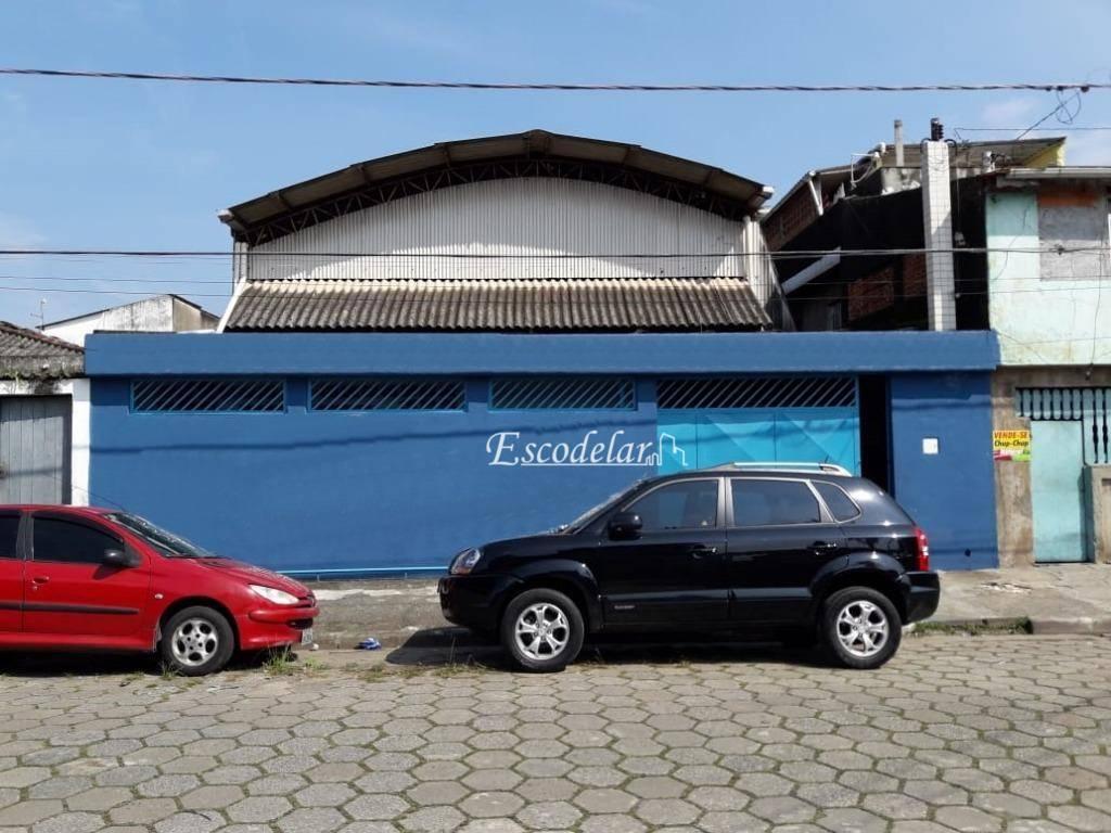 Galpão à venda, 336 m² por R$ 550.000 - Vila Nossa Senhora de Fátima - São Vicente/SP