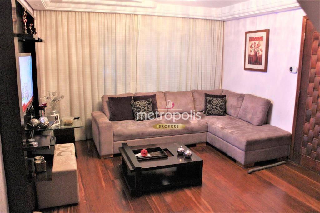 Sobrado à venda, 156 m² por R$ 785.000,00 - Jardim São Caetano - São Caetano do Sul/SP