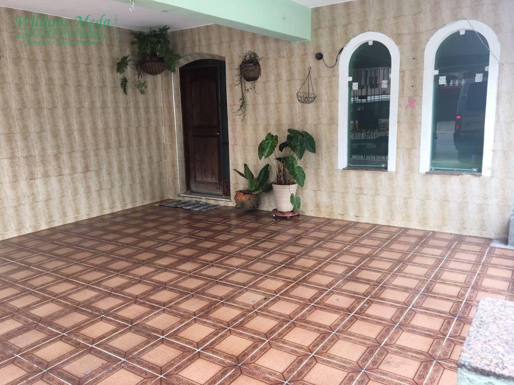 Sobrado residencial à venda, Jardim Santa Clara, Guarulhos - CA0559.