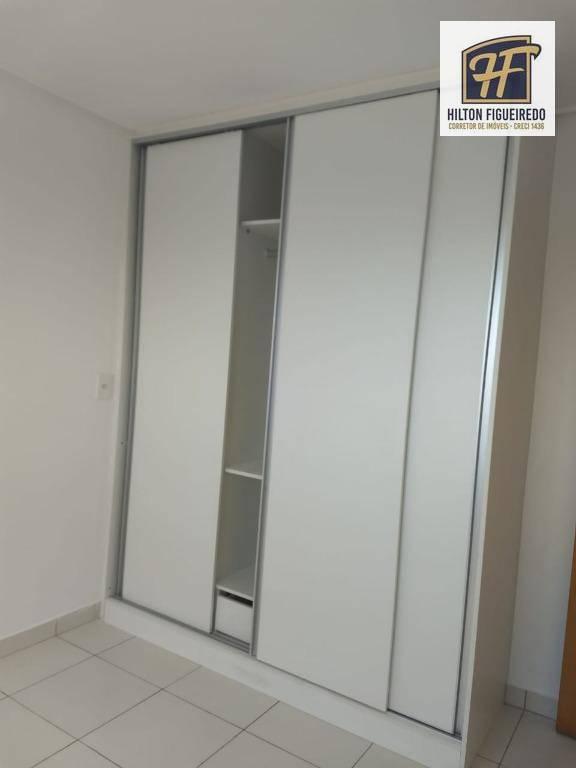 Apartamento com 3 dormitórios para alugar, 100 m² por R$ 2.400/mês - Miramar - João Pessoa/PB