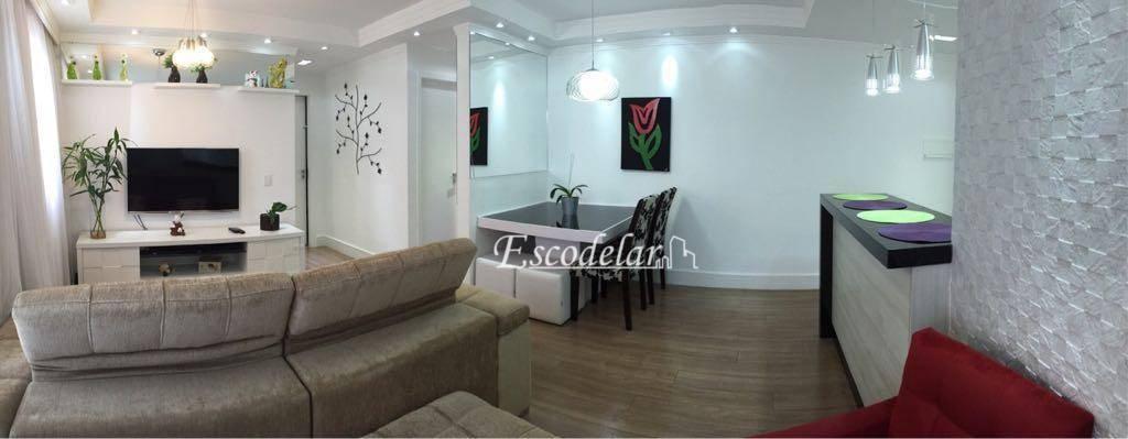 Apartamento com 2 dormitórios à venda, 55 m² por R$ 350.000 - Vila Endres - Guarulhos/SP