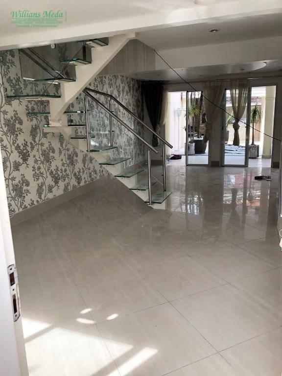 Sobrado com 3 dormitórios para alugar, 278 m² por R$ 4.500/mês - Jardim Maia - Guarulhos/SP