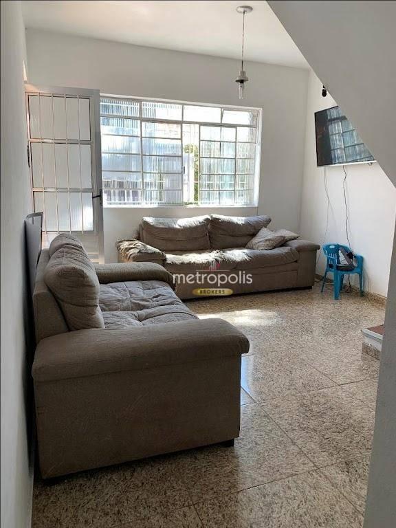 Sobrado com 2 dormitórios à venda, 120 m² por R$ 400.000 - Osvaldo Cruz - São Caetano do Sul/SP