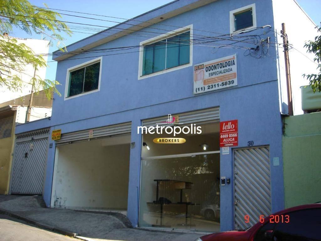 Salão para alugar, 23 m² por R$ 1.100,00/mês - Nova Gerty - São Caetano do Sul/SP