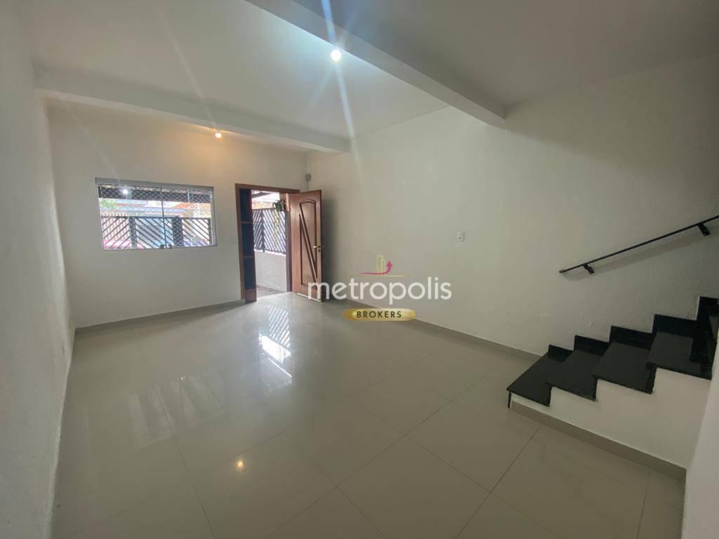 Sobrado com 2 dormitórios para alugar, 141 m² por R$ 1.800,00/mês - Santa Maria - São Caetano do Sul/SP