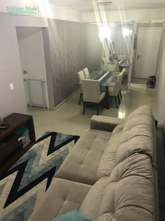 Apartamento residencial à venda, 2 dormitórios sendo 1 suíte, 1 vaga. Picanco, Guarulhos.