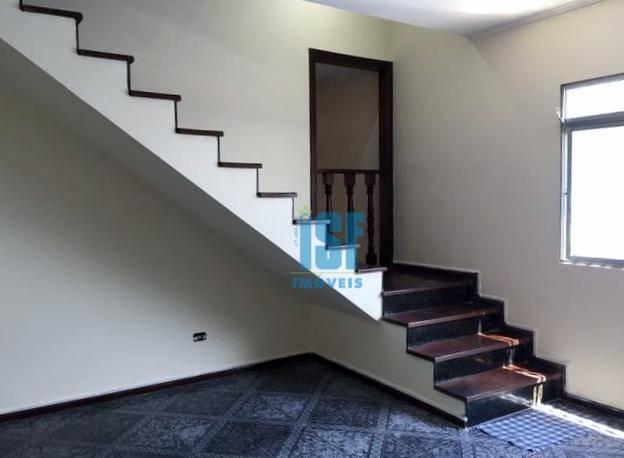Sobrado com 3 dormitórios para alugar, 125 m² por R$ 2.400/mês - Jardim D Abril - Osasco/SP SO5473