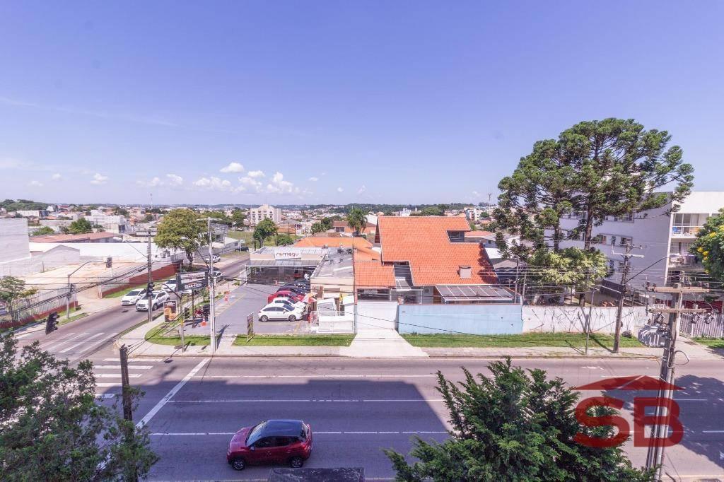 Apartamento com 2 dormitórios à venda, 53 m² por R$ 190.000 - Capão Raso - Curitiba/PR