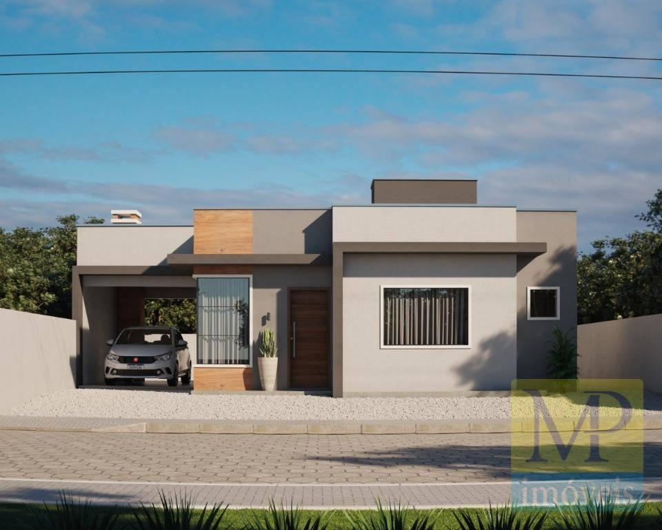 Casa com 3 dormitórios à venda, 88 m² por R$ 470.000 - Itajuba - Barra Velha/SC