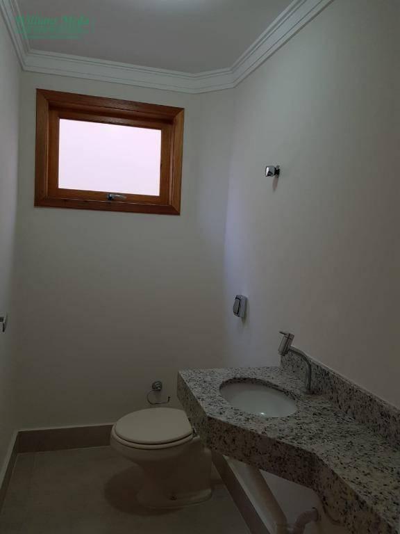 Sobrado com 3 dormitórios para alugar, 100 m² por R$ 2.300/mês - Jardim Santa Clara - Guarulhos/SP
