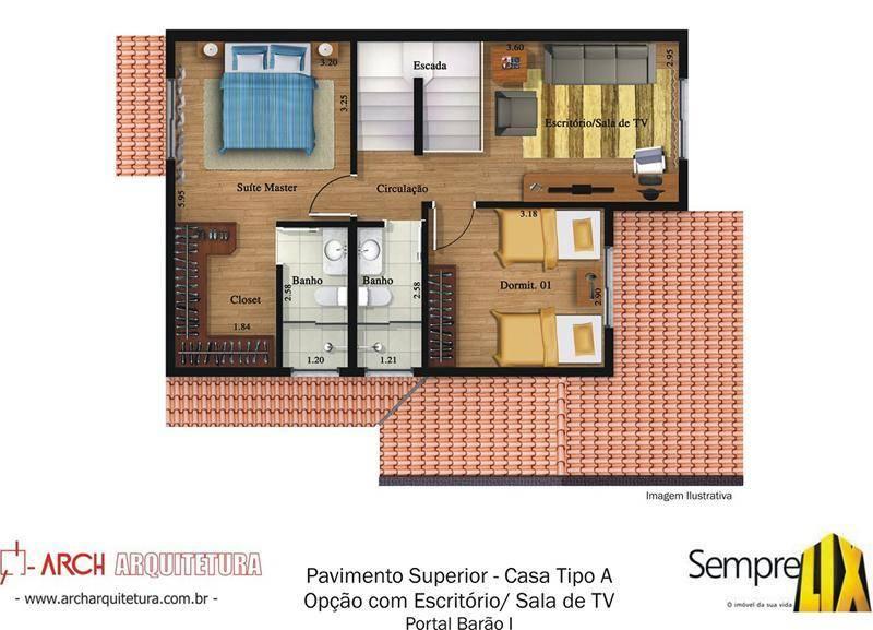 Casa 3 Dorm, Bosque de Barão Geraldo, Campinas (CA1371) - Foto 8