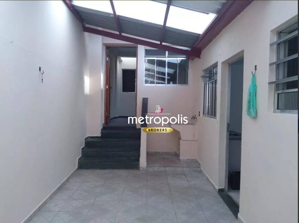 Casa com 3 dormitórios à venda por R$ 550.000,00 - Osvaldo Cruz - São Caetano do Sul/SP