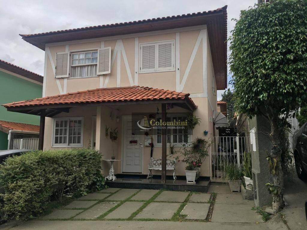 Sobrado em condomínio fechado à venda, Taboão, São Bernardo do Campo.