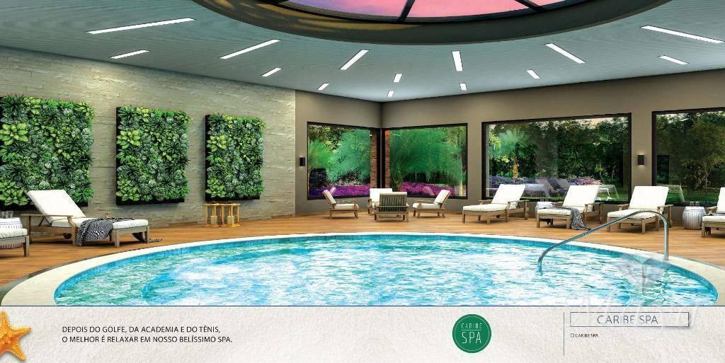 Lotes a partir de 600 m² no Condomínio Caribe Golf & Spa