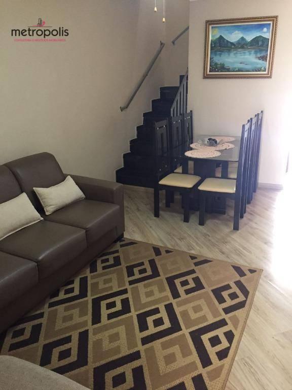Sobrado residencial à venda, Vila Bela Vista, Santo André.
